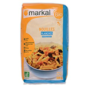 MARKAL – NOUILLES BLANCHES – 500G