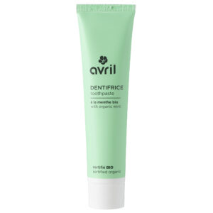 AVRIL – DENTIFRICE MENTHE sans fluor – 100ml