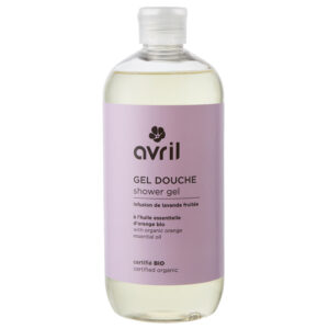 AVRIL – GEL DOUCHE INFUSION DE LAVANDE FRUITÉE – 500ml