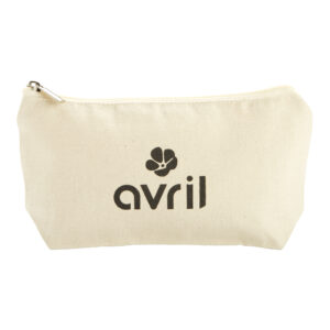 AVRIL – TROUSSE À MAQUILLAGE en COTON BIO